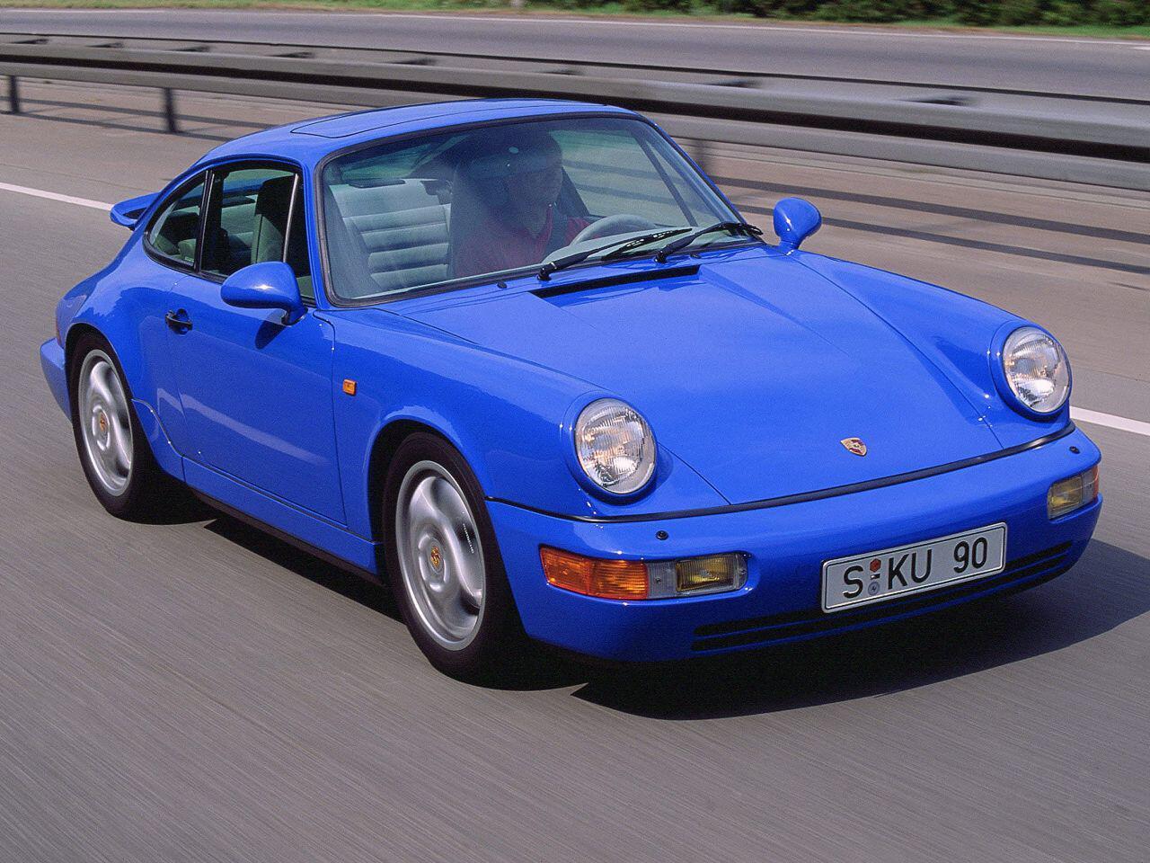 Bild zu Porsche 911 Baureihe 964