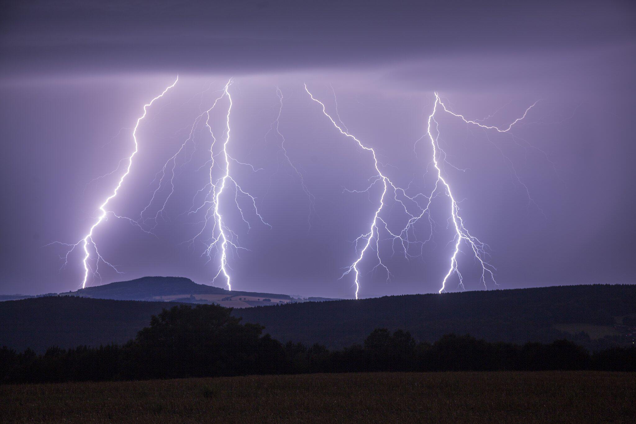 Bild zu Blitz über Annaberg-Buchholz