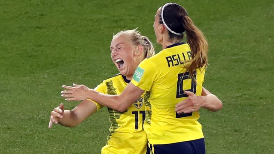 Frauenfußball-WM - Schweden - Kanada