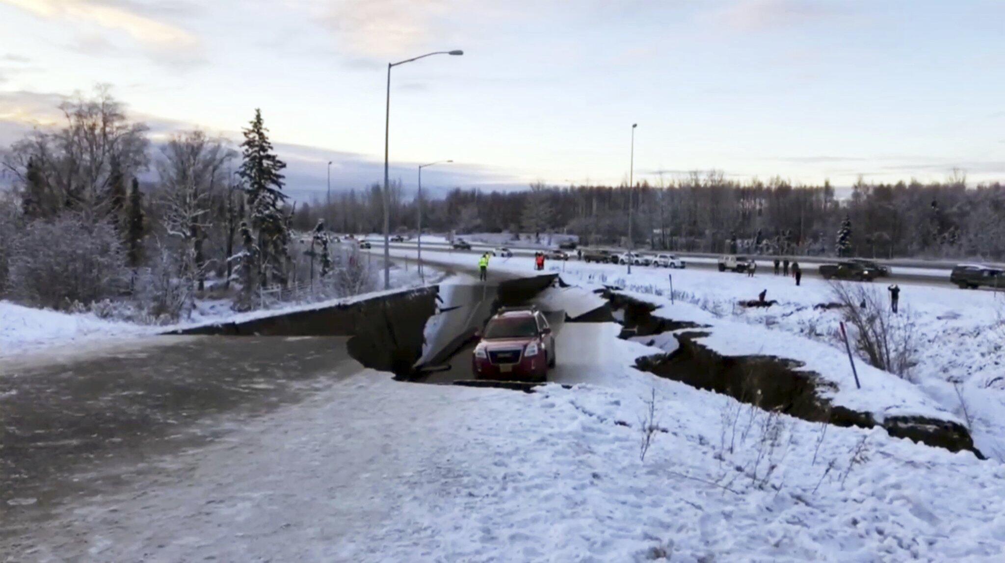 Bild zu Erdbeben im Süden von Alaska
