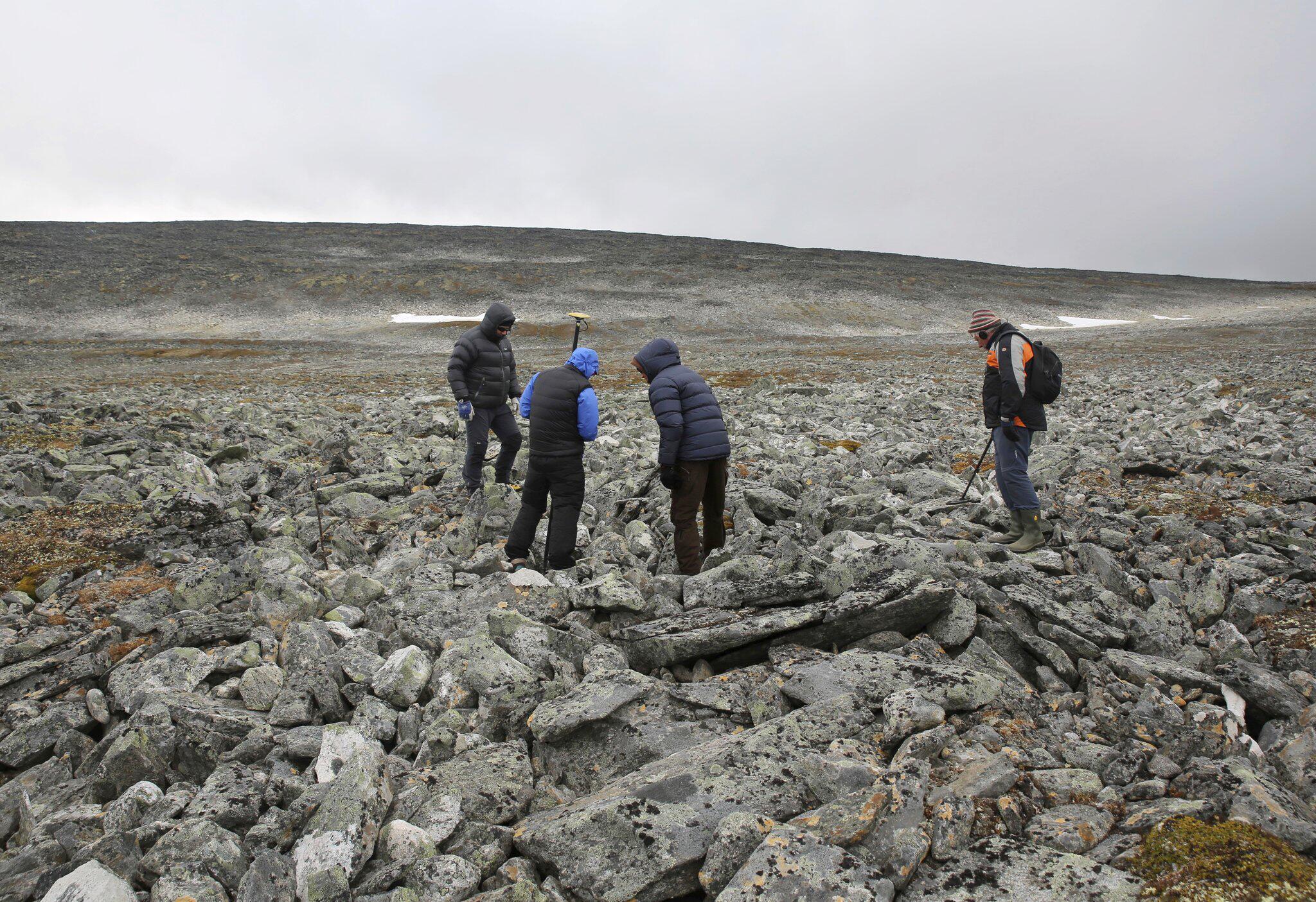 Bild zu Wikingerschwert in norwegischen Bergen entdeckt