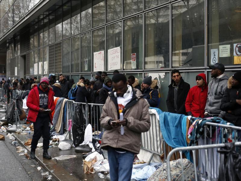 Bild zu Flüchtlinge in Frankreich