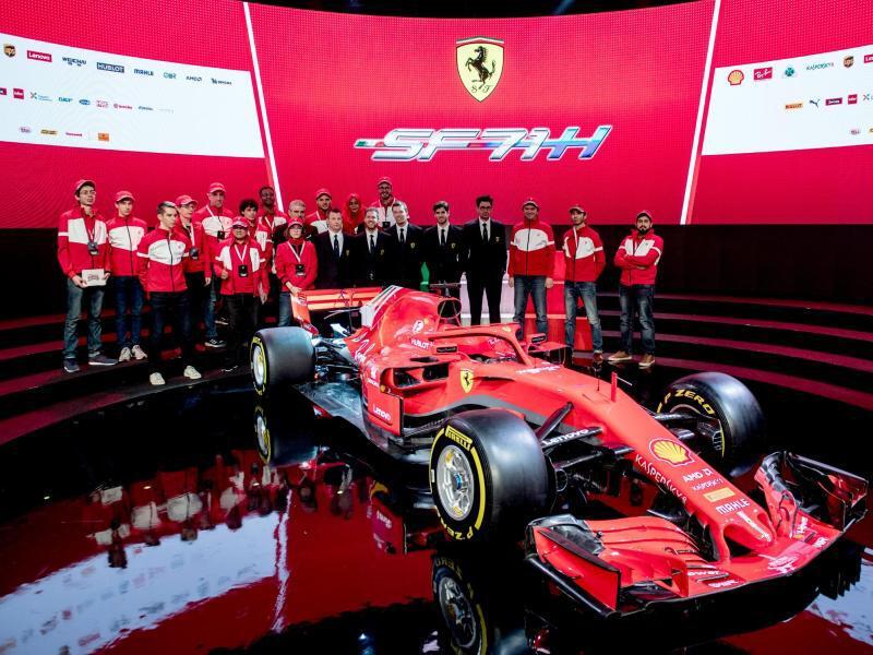 Bild zu Ferrari SF71H