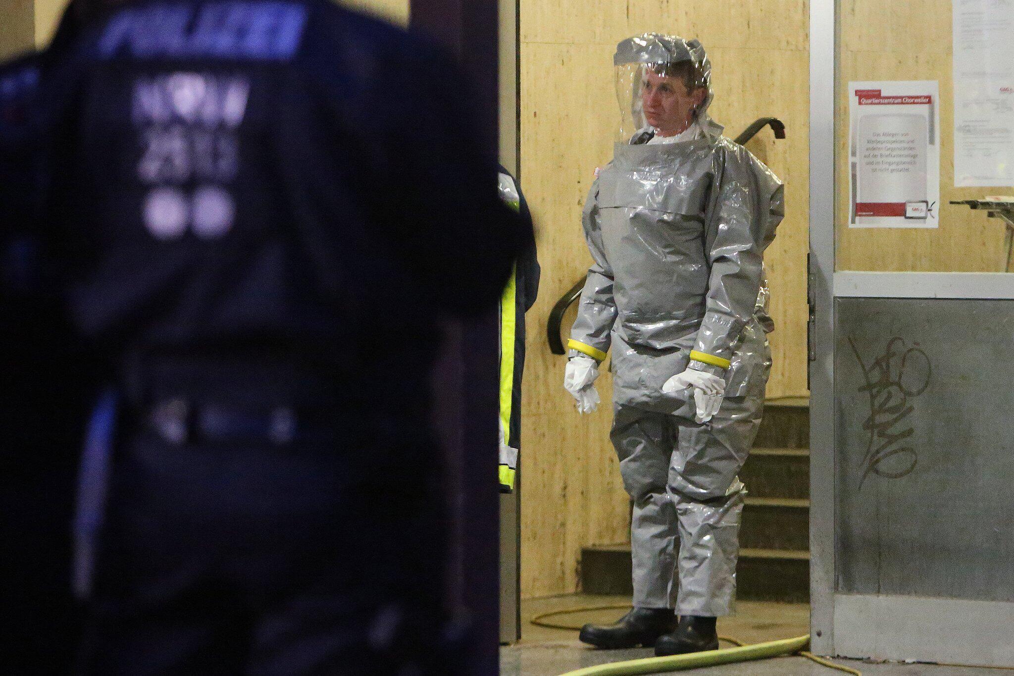 Bild zu Verdacht auf giftige Stoffe in Kölner Wohnung