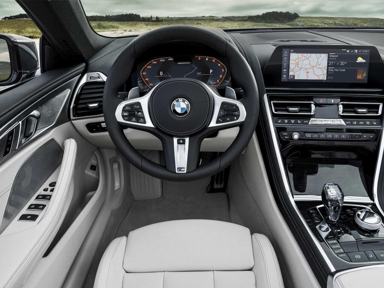 Bild zu BMW 8er Cabrio Innenraum