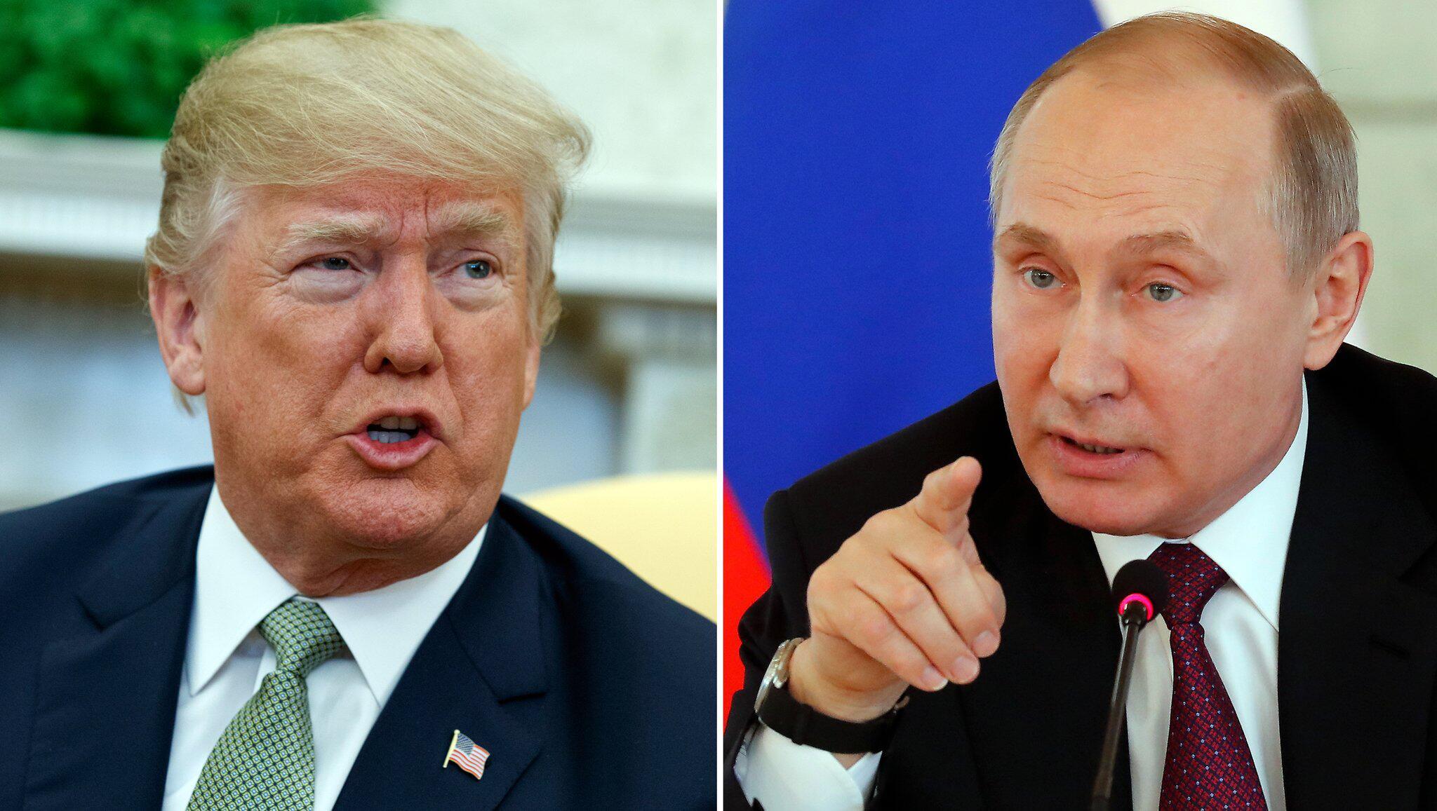 Bild zu Donald Trump und Wladimir Putin