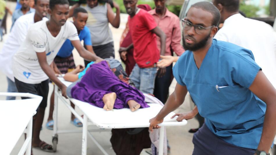 Terrorangriff auf Hotel in Somalia