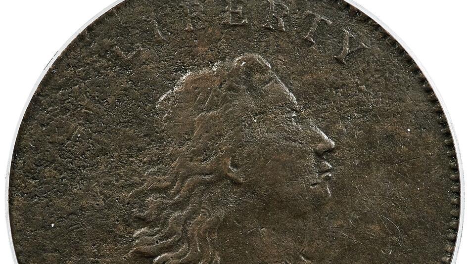Seltene US-Dollarmünze für 840.000 Dollar versteigert