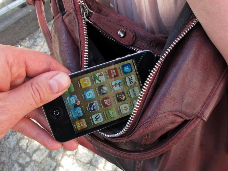Bild zu Handy-Diebstahl