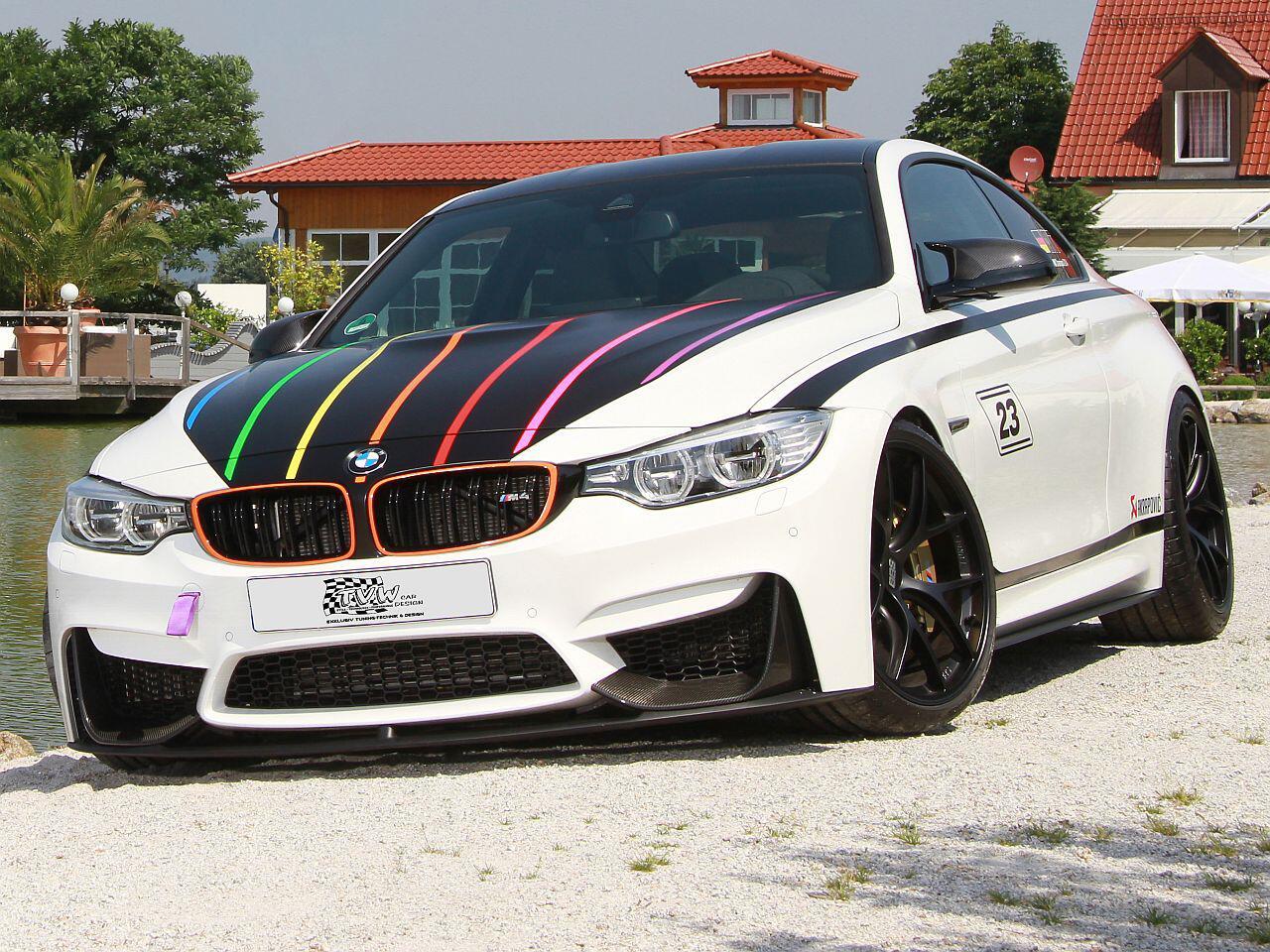 Bild zu BMW M4 DTM Champion Edition von TVW Car Design