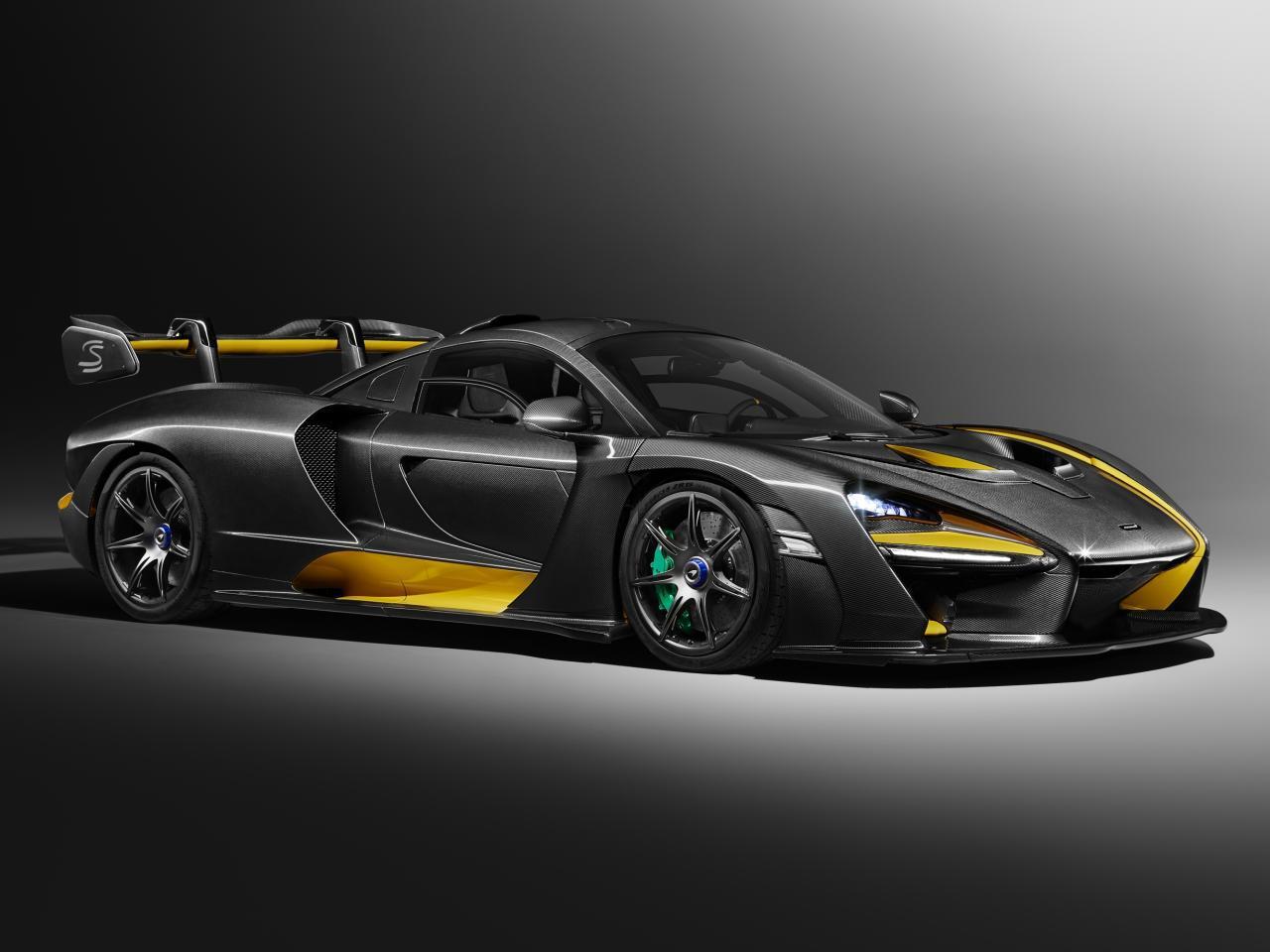 mclaren senna carbon theme: 800 ps starker supersportwagen mit