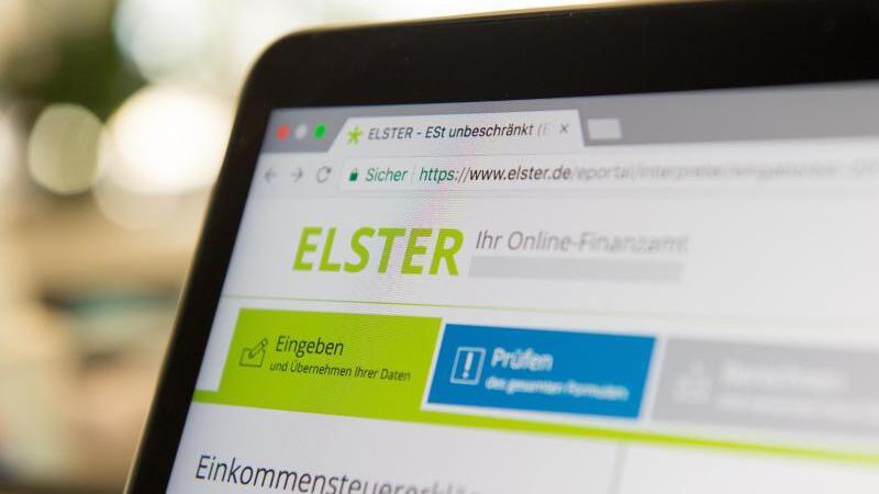 ELSTER-Online-Formular