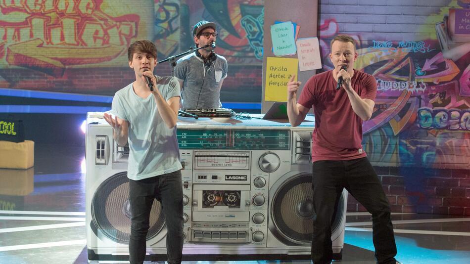 Kinderband Deine Freunde erstmals in der «The Voice Kids»-Jury