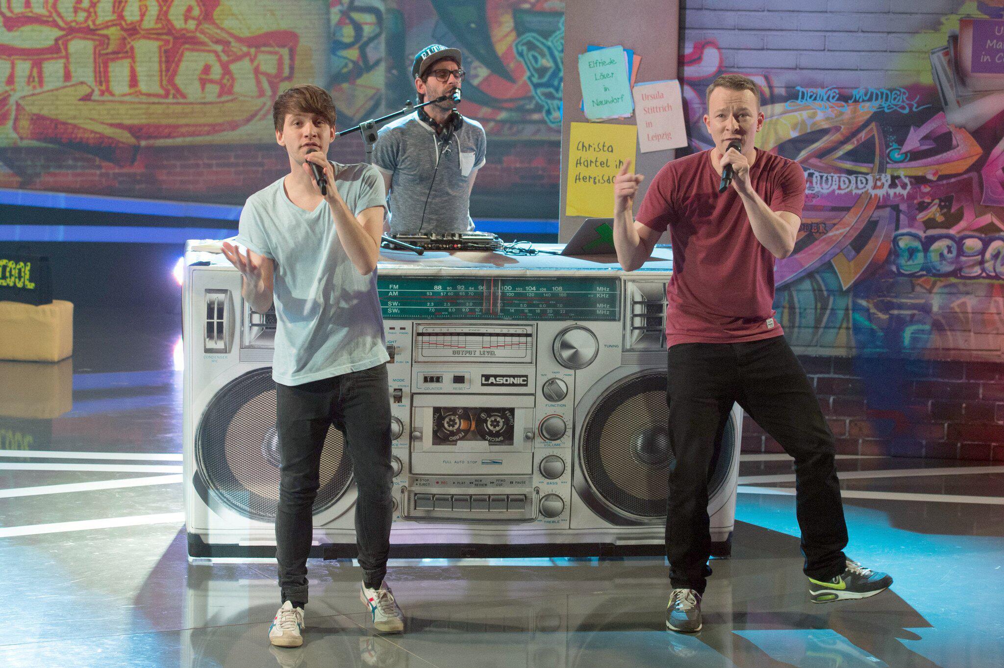 Bild zu Kinderband Deine Freunde erstmals in der «The Voice Kids»-Jury