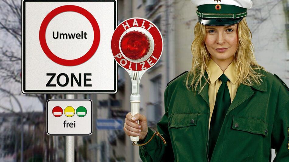 Umweltzonen in Deutschland: Einfahrt nur mit entsprechender Feinstaubplakette