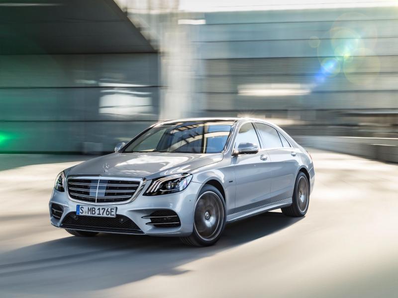 Bild zu Mercedes-Benz S 560 e