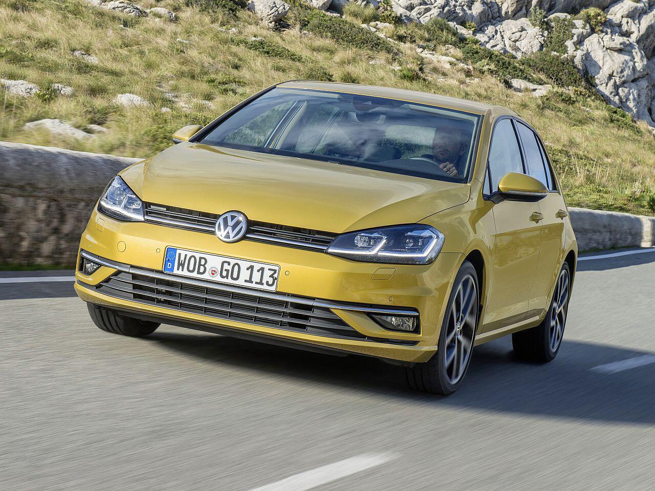 Bild zu Platz 3: VW Golf