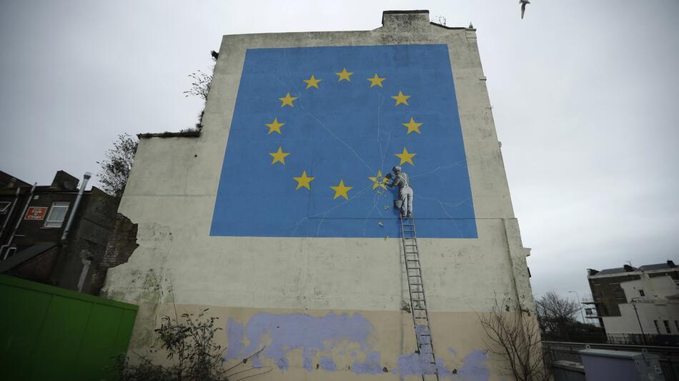 Banksy-Wandgemälde
