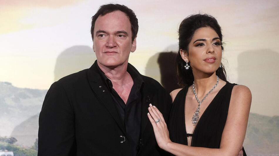 Regisseur Tarantino stellt neuen Film in Rom vor