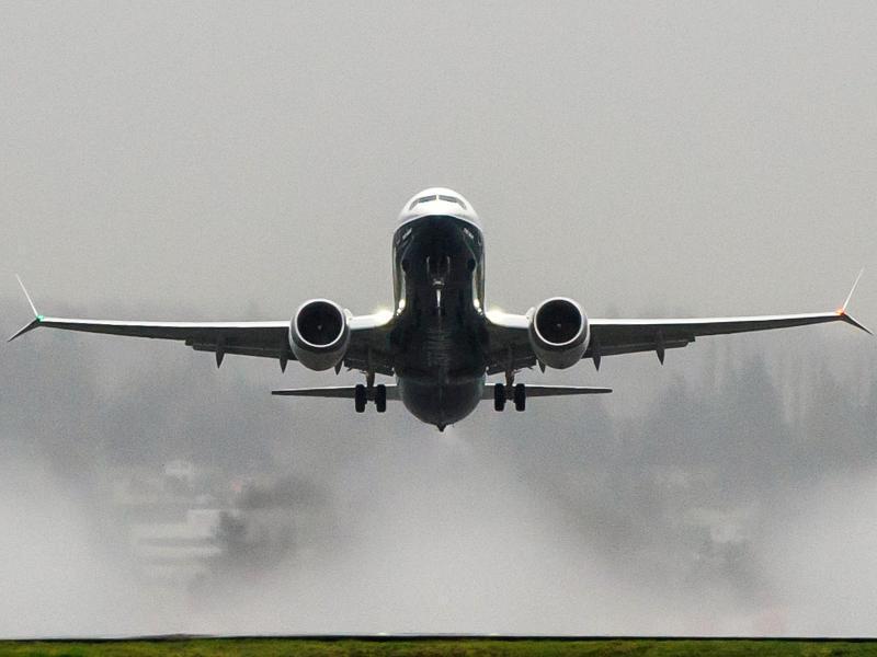 Bild zu 737 Max von Boeing