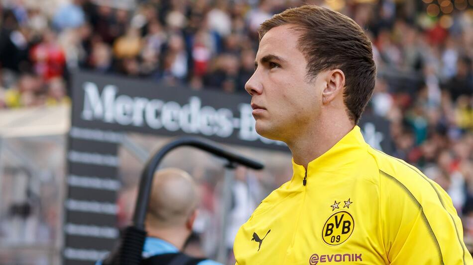 VfB Stuttgart - Borussia Dortmund, Bundesliga, Mario Götze