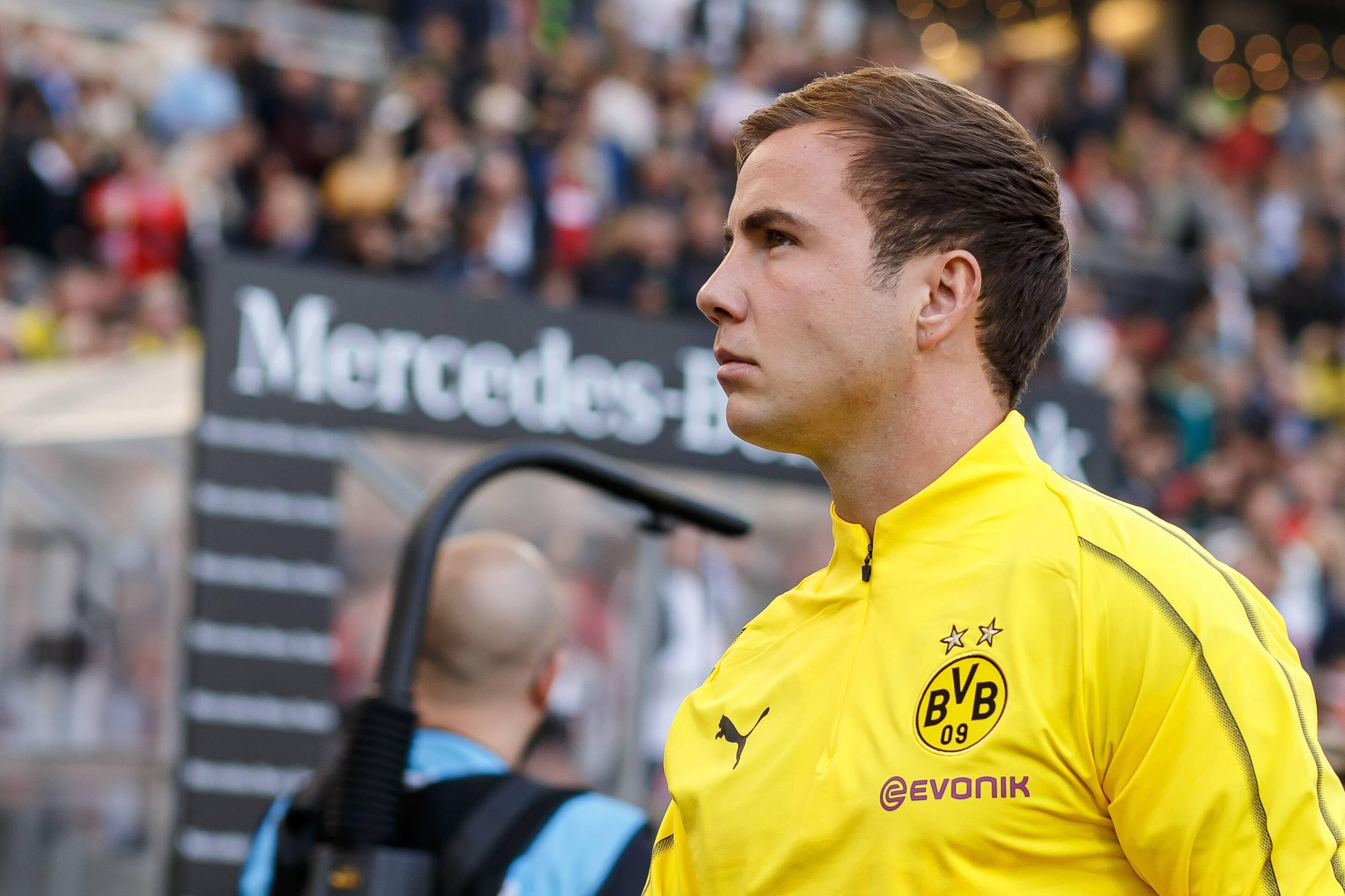 Bild zu VfB Stuttgart - Borussia Dortmund, Bundesliga, Mario Götze