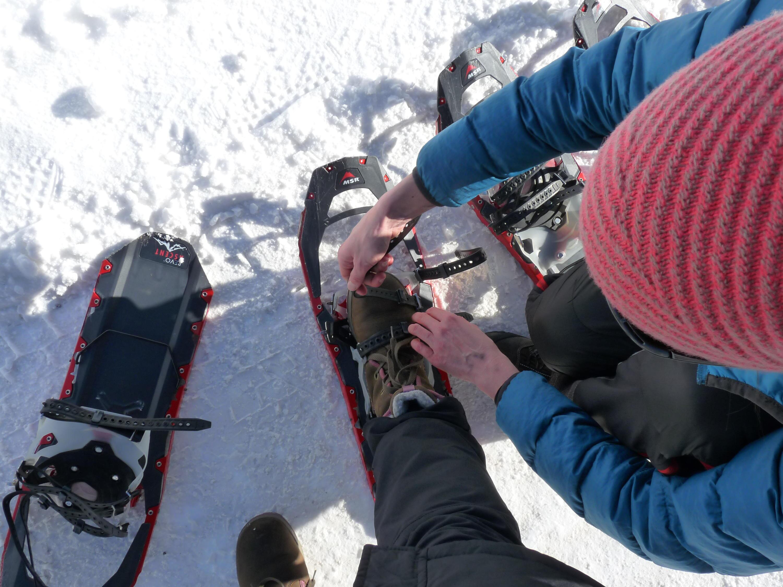 Bild zu Schneeschuhe, Wanderung