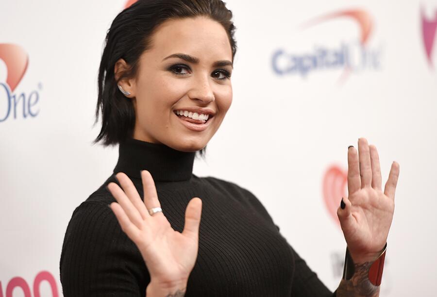 Bild zu Demi Lovato ist glücklicher Single