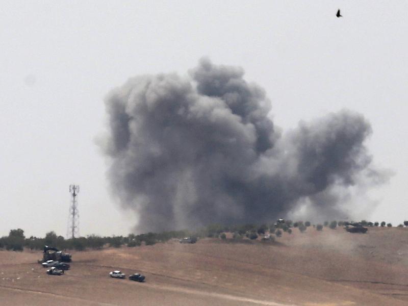 Bild zu Offensive in Nordsyrien