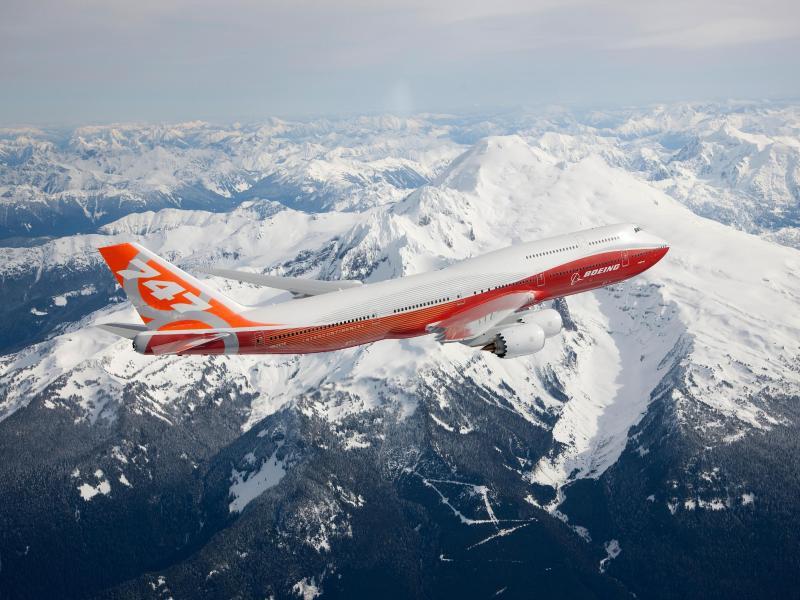Bild zu 747-8 von Boeing