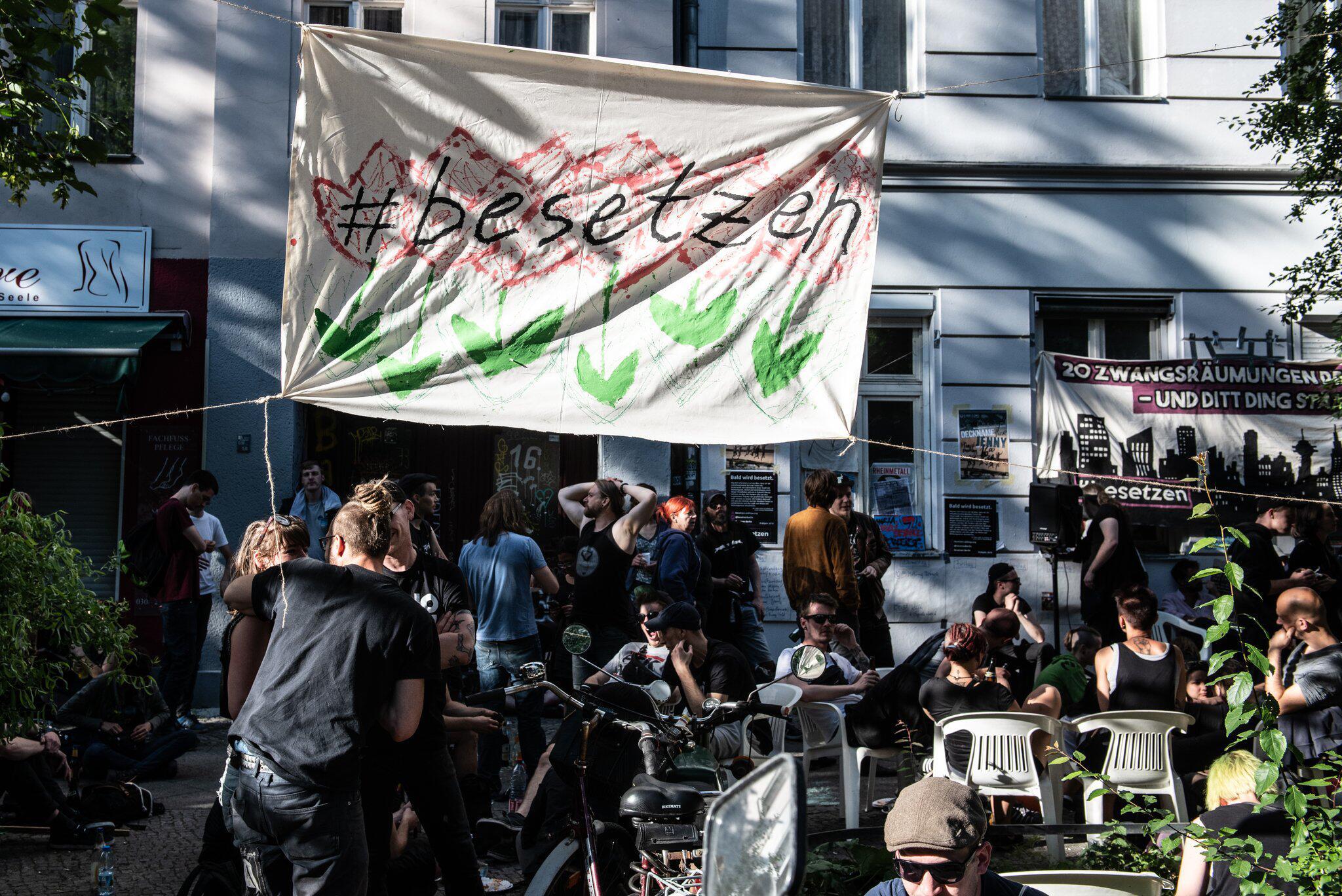 Bild zu Hausbesetzungen in Berlin