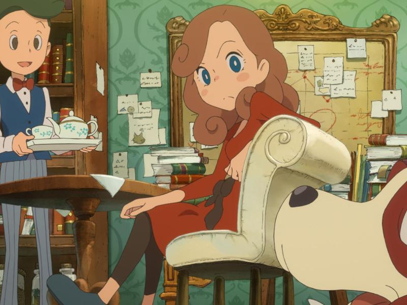 Bild zu «Layton's Mystery Journey»