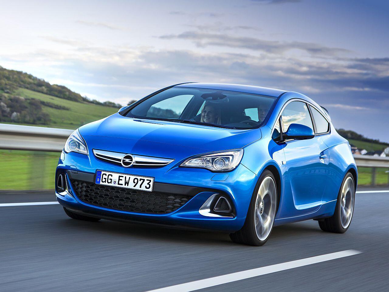 Bild zu Platz 7: Opel Astra OPC