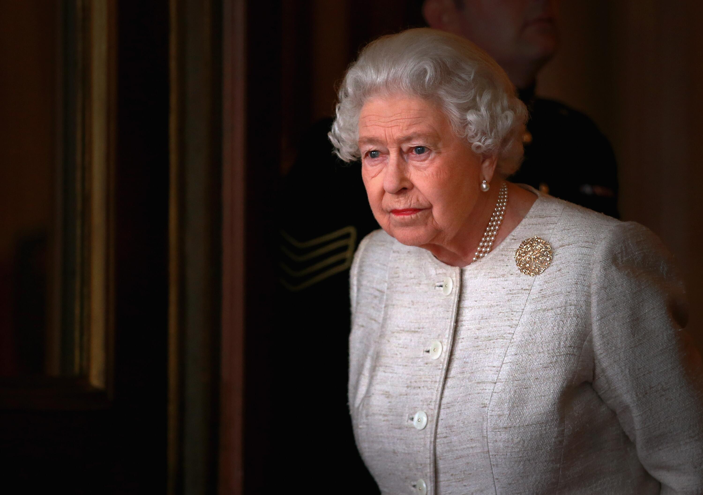 Bild zu Queen Elizabeth II., Taufe Prinz Louis