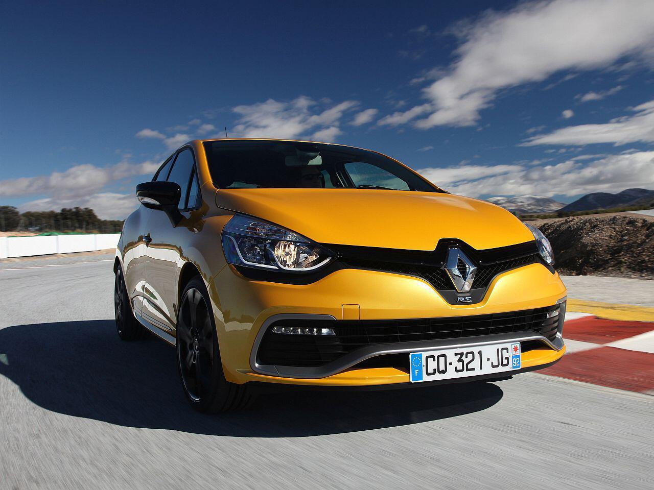 Bild zu Platz 5: Renault Clio RS