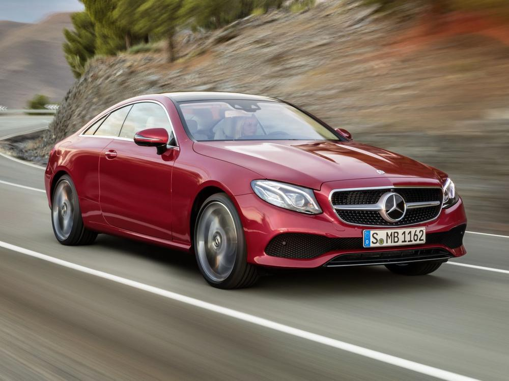 Bild zu Mercedes-Benz E-Klasse Coupé