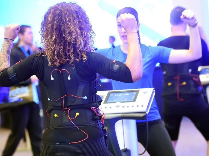 Bild zu EMS-Training