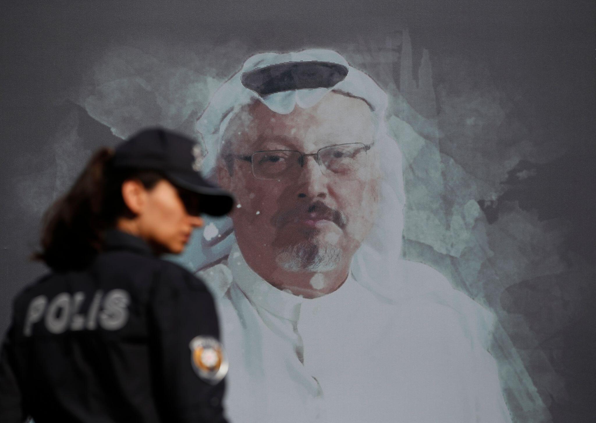 Bild zu Wandbild Jamal Khashoggi