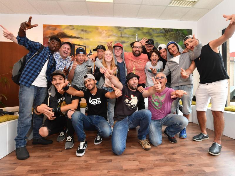 Bild zu Rapper Projekt Mannheim
