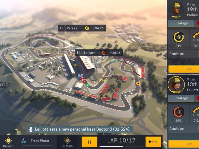 Bild zu «Motorsport Manager Mobile 2»