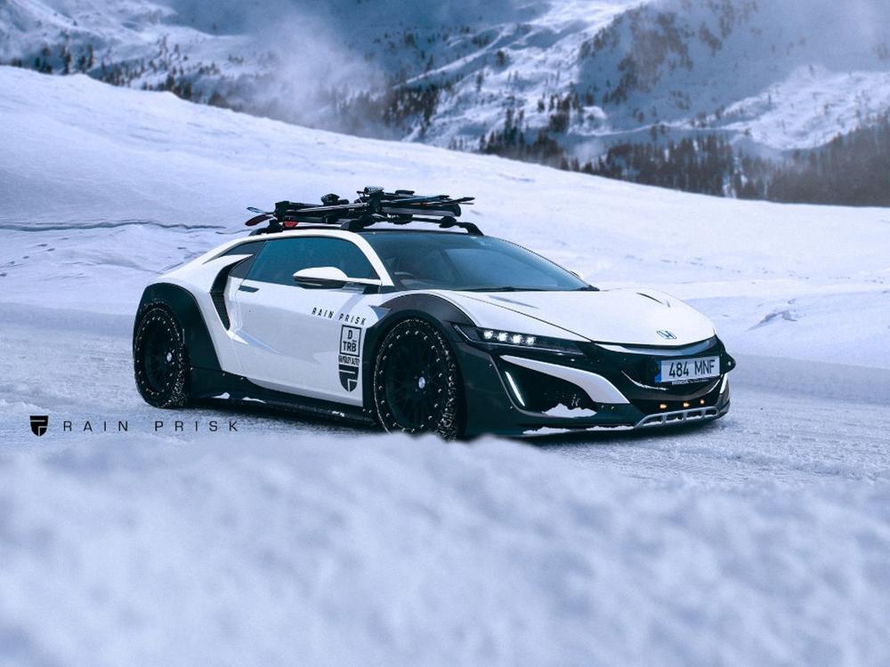 Bild zu Honda NSX Shooting Brake
