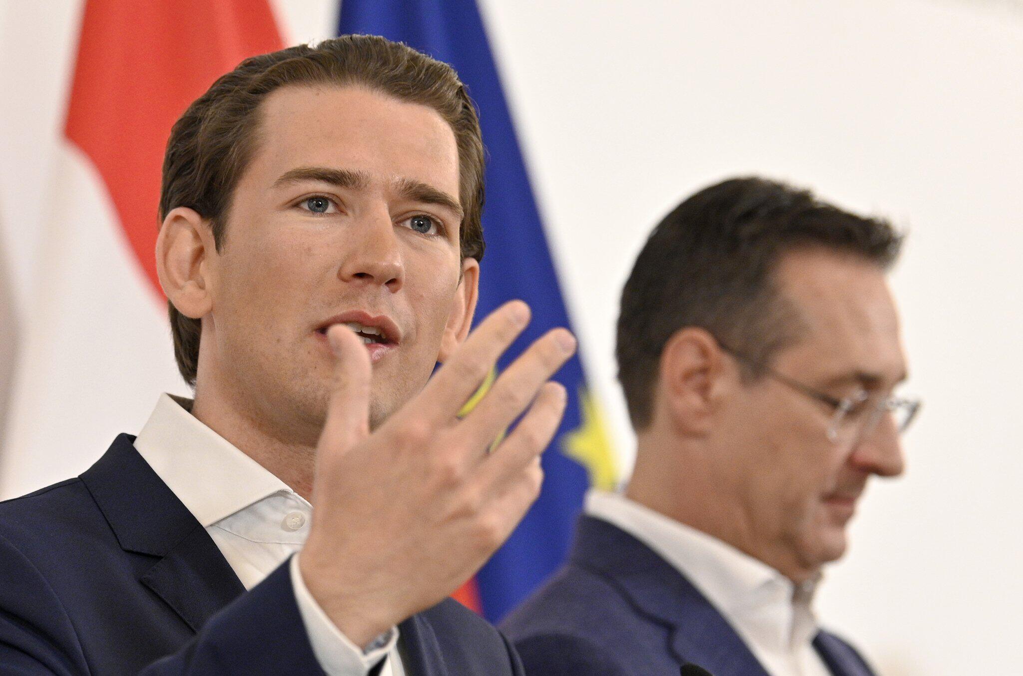 Bild zu Österreich - Ministerrat tagt - Kurz und Strache