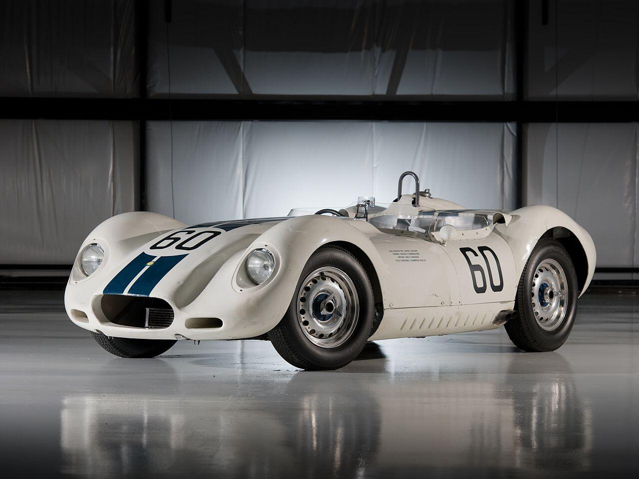 """Bild zu Lister-Jaguar """"Knobbly"""" Prototype"""