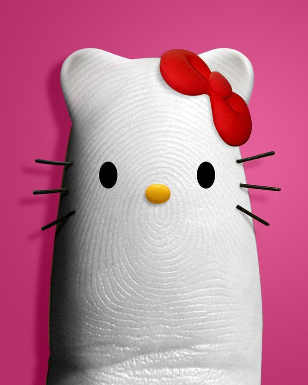 Bild zu Hello-Kitty-Daumen