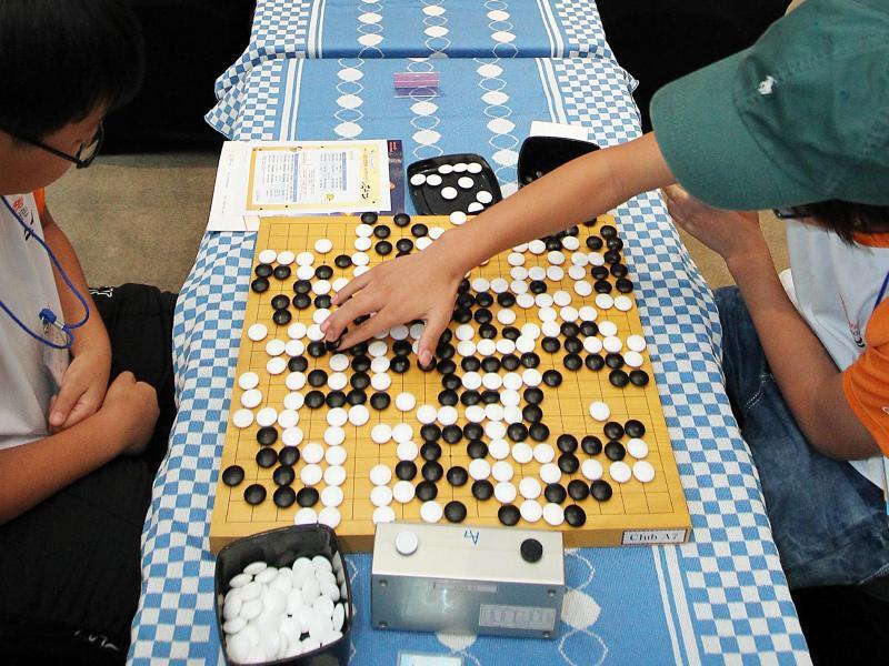 Bild zu Go-Spieler