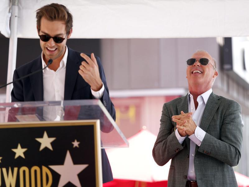 Bild zu Michael Keaton auf dem Walk of Fame