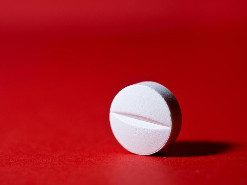 Bild zu Tablette mit Kerbe