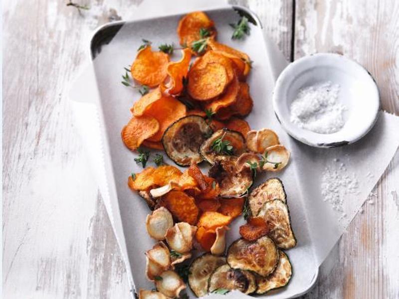 Bild zu Gemüsechips aus dem Ofen