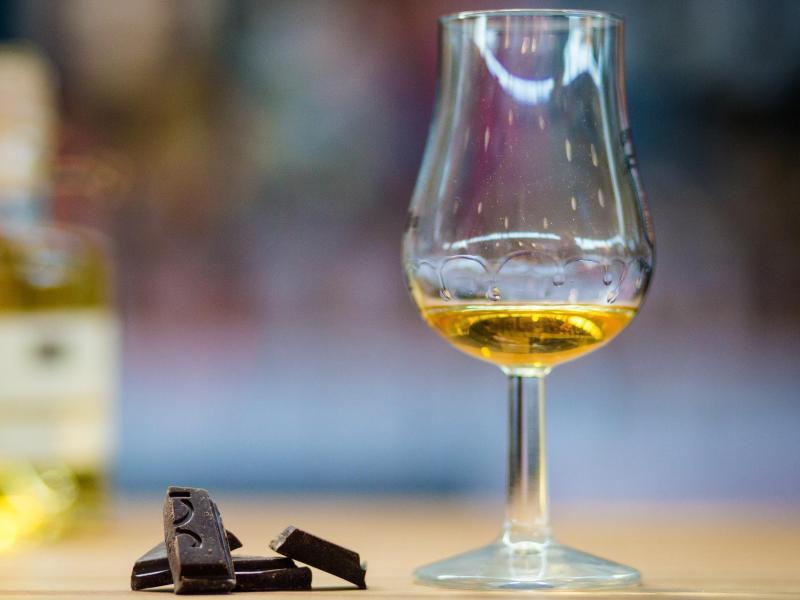 Bild zu Whisky trifft auf Schokolade