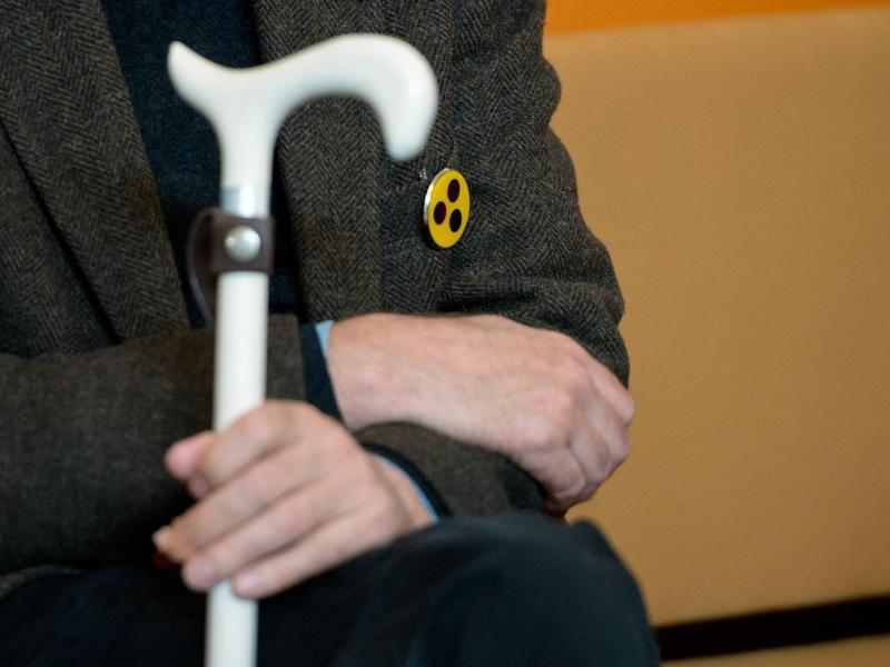 Bild zu Hilfe für Blinde